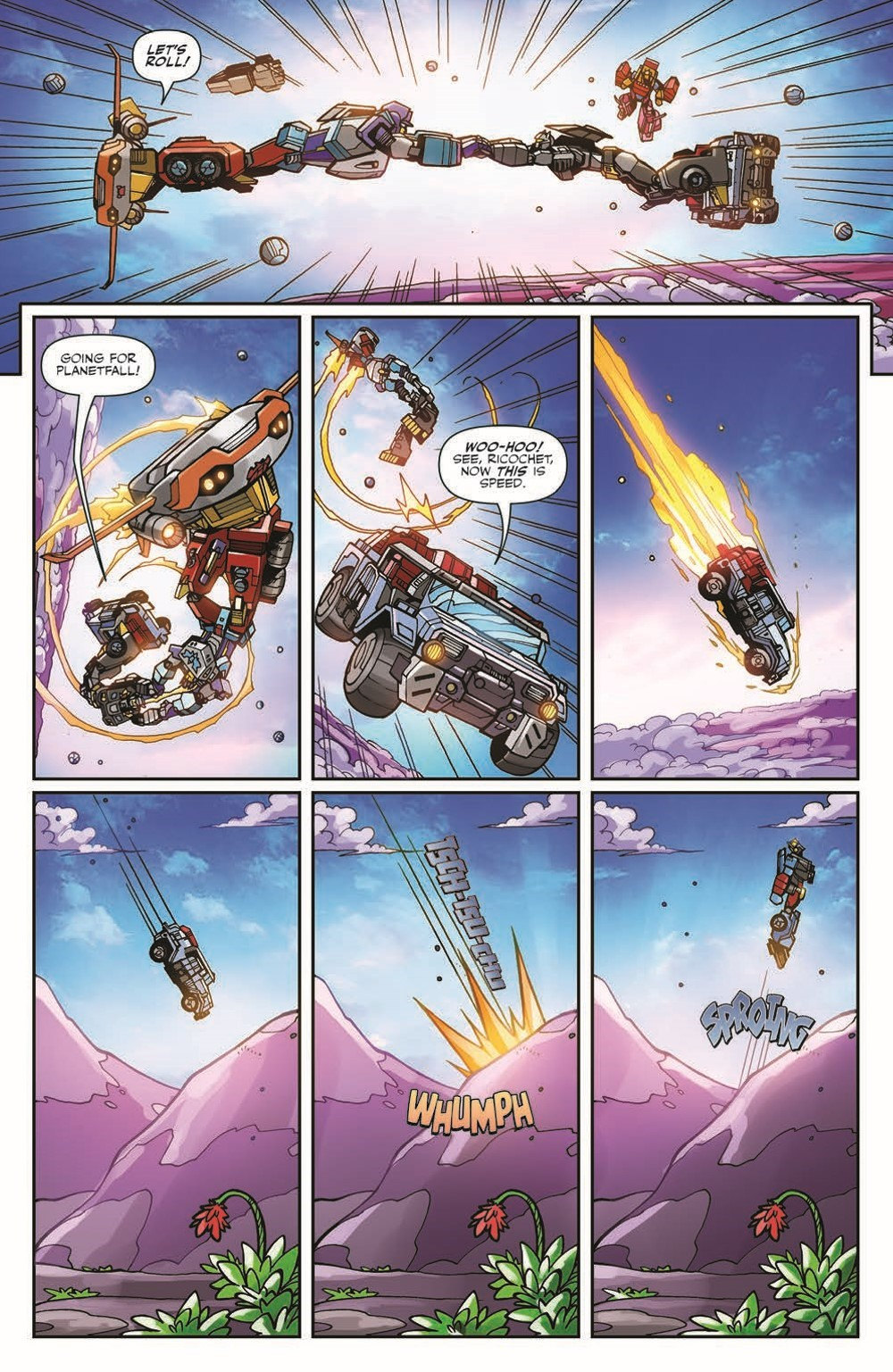 TFWreckers01-pr-7 ComicList Previews: TRANSFORMERS WRECKERS TREAD AND CIRCUITS #1 (OF 4)