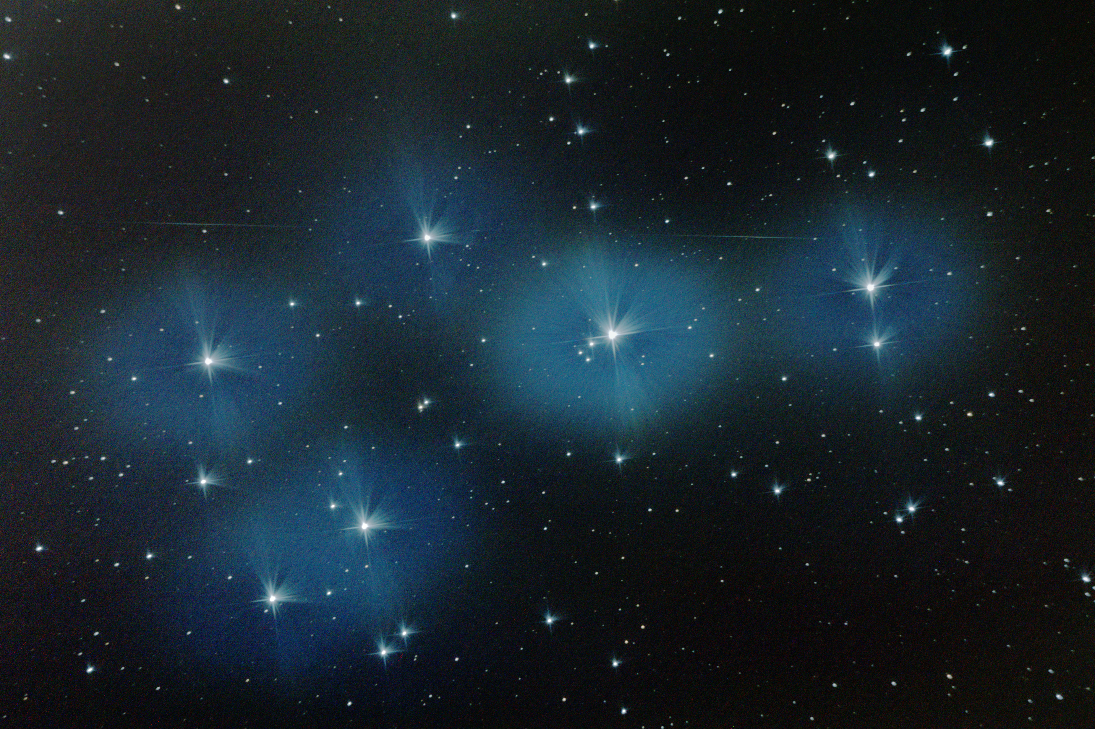 Cassiopeia Observatory - Report - Imaging: M44, M45 and