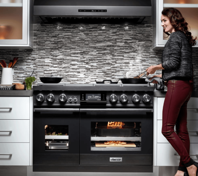 product review dacor modernist gas range