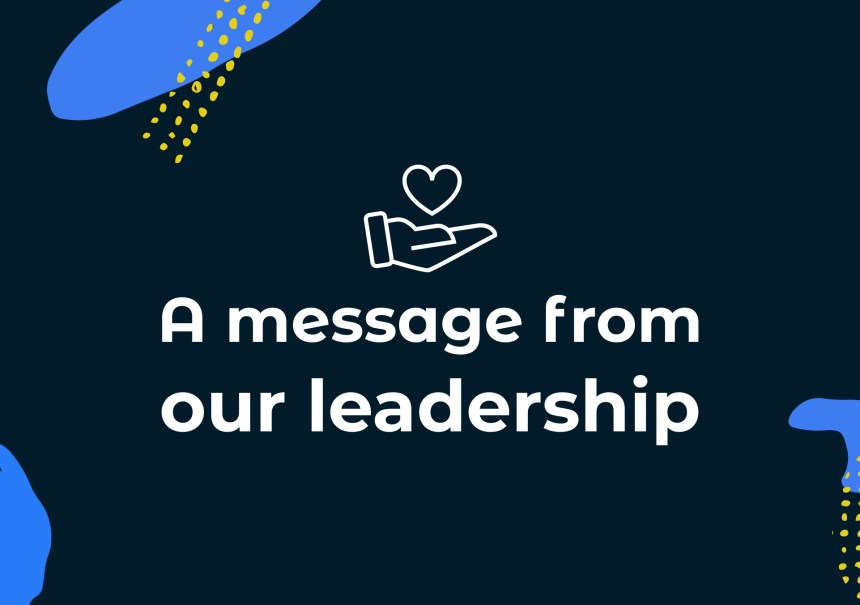 Message from indi leadership