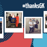 Let's give thanks for the amazing people supporting us with #thanksgk