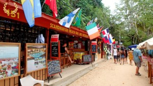Scandinavian bar in Sosua beach