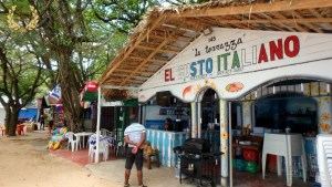 Italian restaurant in Sosua