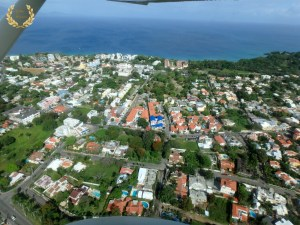 Aerial photo of El Batey, Sosua