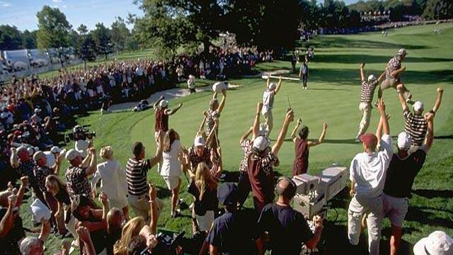 Justin Leonard, 1999 Ryder Cup, image: golf.com