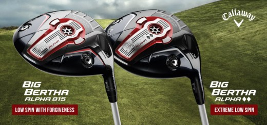 Callaway Big Bertha Alpha 815 and Big Bertha Alpha 815 Double Black Diamond, image: callawaymedia.com