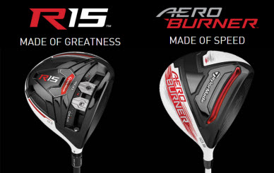 TaylorMade R15 and AeroBurner Drivers for 2015