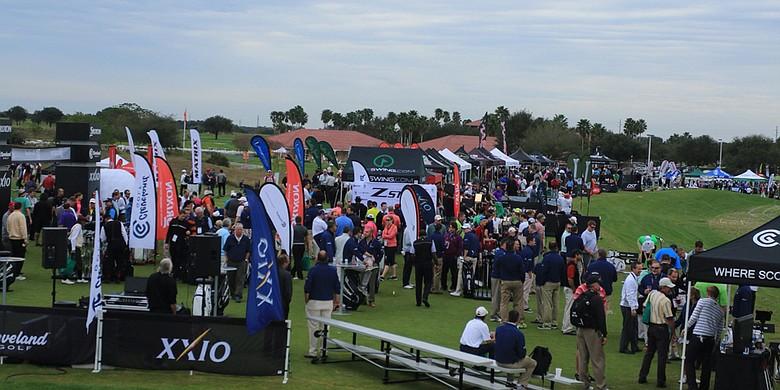 2015 PGA Merchandise Show Demo Day, image: golfweek.com