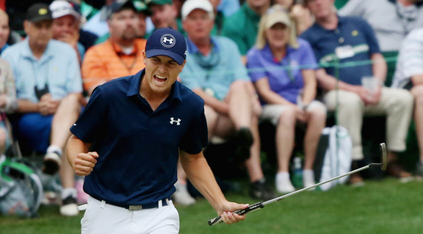 Jordan Spieth at the 2015 Masters, image: thebiglead.com