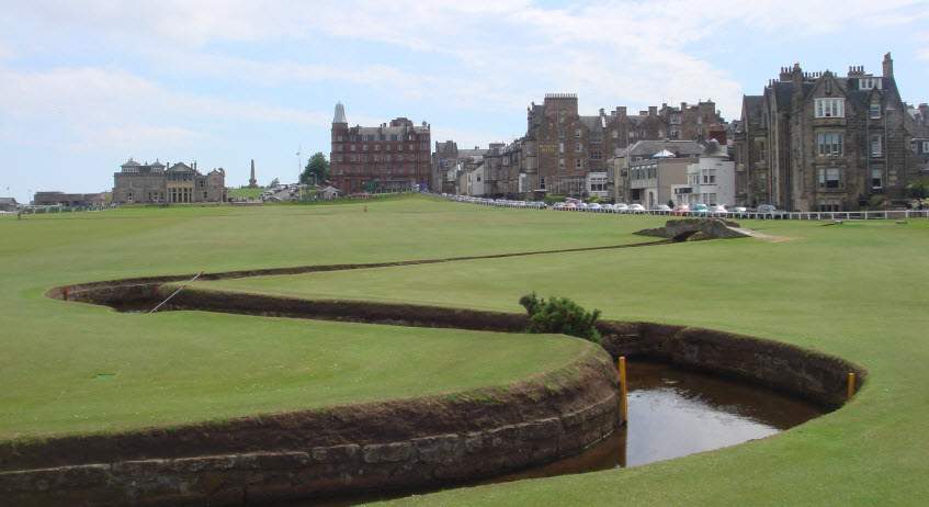 St. Andrews Golf Course, image: giantbomb.com
