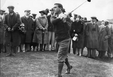 Gene Sarazen wins the 1923 PGA Championship, image: americanheritage1.com