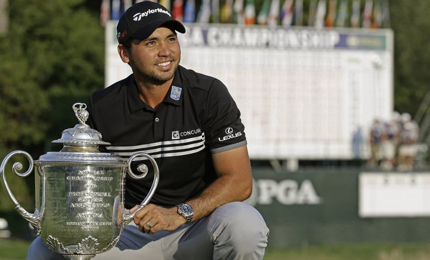 Jason Days Wins the 2015 PGA Championship, image: monroenews.com