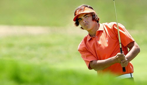 Rickie Fowler while at Oklahoma State University, image: golfweek.com