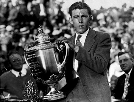 Tom Creavy wins the 1931 PGA Championship, image: golfdigest.com