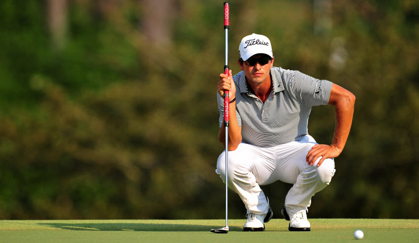 Adam Scott and his Long Putter, image: todaysgolfer.co.uk