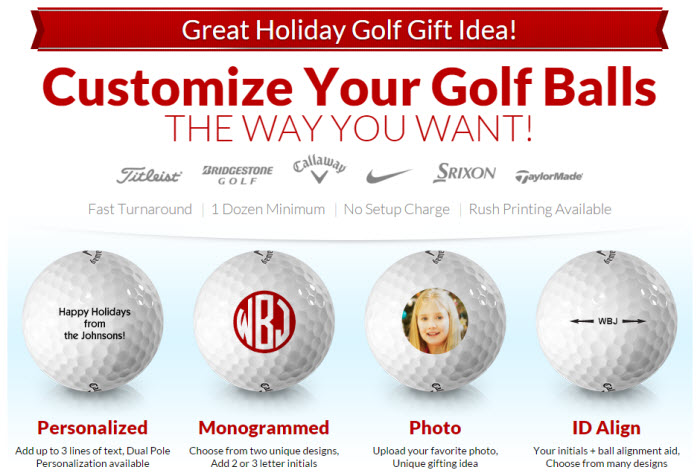 Customized Golf Balls from Golfballs.com