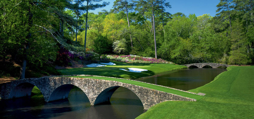 Augusta National Golf Course, image: tamu.edu
