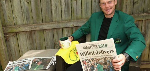 Danny Willett Wins the 2016 Masters, image: golfweek.com