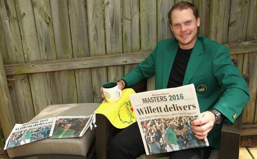 Danny Willett Wins the 2016 Masters, image: golfweek.com