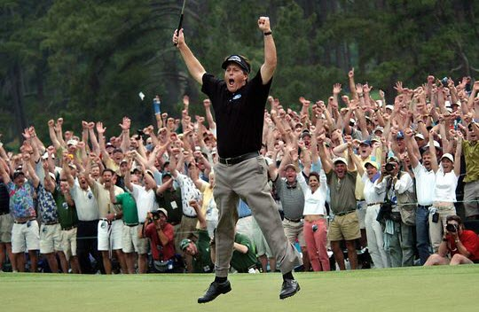 Phil Mickelson Wins 2004 Masters, image: usatoday.com