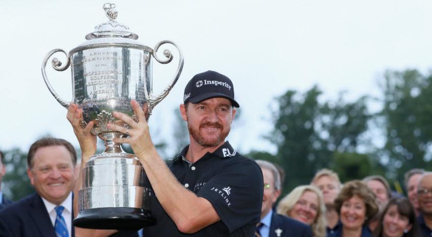Jimmy Walker Wins the 2016 PGA Championship, image: Jimmy Walker Wins the 2016 PGA Championship, image: thebiglead.com