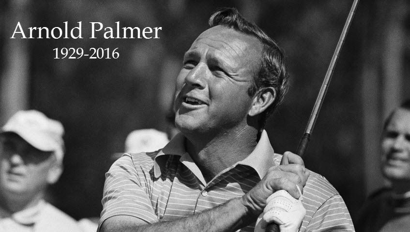 Arnold Palmer, 1929-2016, image: arnoldpalmerdesign.com