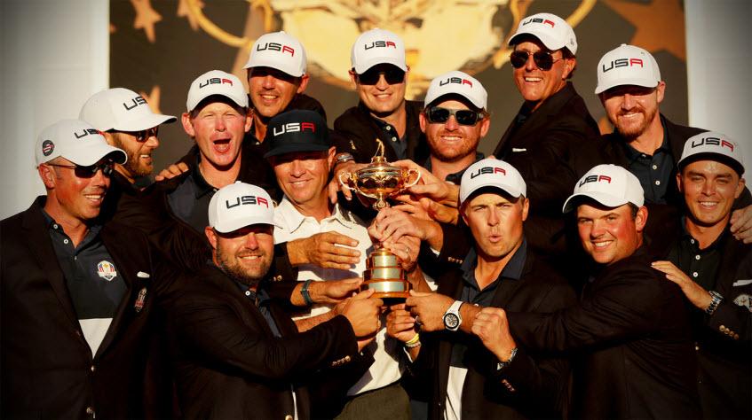 Team USA Wins the 2016 Ryder Cup, image: rydercup.com