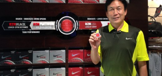 Rock Ishii while at Nike Golf, image: flagstick.com
