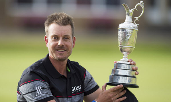 Henrick Stenson after Winning The Open in 2016, image: pga.com
