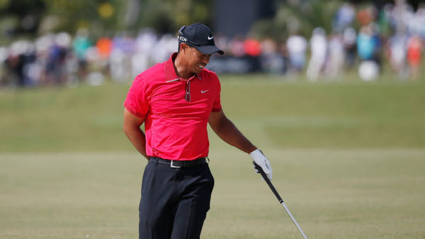 Tiger Woods Experiencing Back Trouble, image: skysports.com