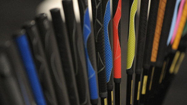 Different Golf Club Grips, image: pga.com