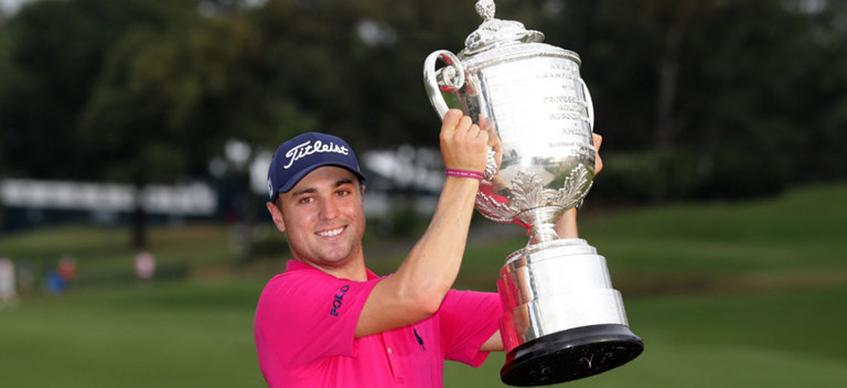 Justin Thomas Wins 2017 PGA Championship, image: skysports.com