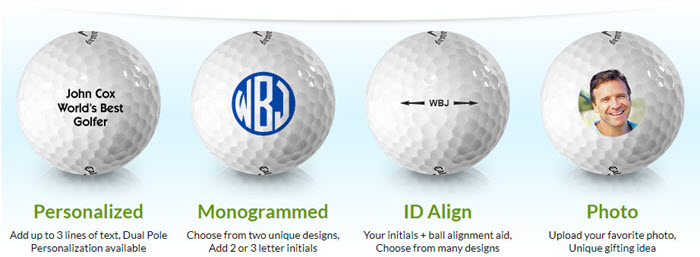 Personalized Golf Balls From Golfballs.com