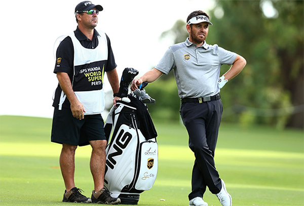 Louis Oosthuizen Using PING Tour Staff Bag, image: golfmagic.com
