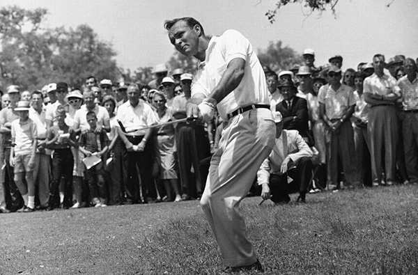 Arnold Palmer in Final Round of the 1962 Texas Open, image: newsobserver.com