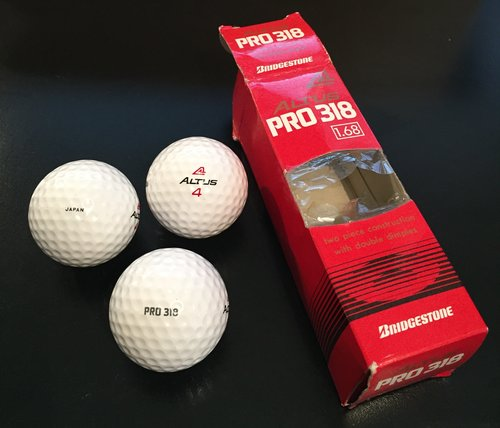 Bridgestone Altus Golf Balls, image: vintagegolfdays.co.uk