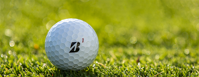 Bridgestone B-mark Golf Ball, image: bridgestonegolf.com