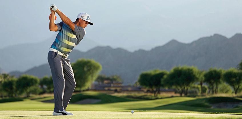 Rickie Fowler's Fade Shot, image: golfdigest.com
