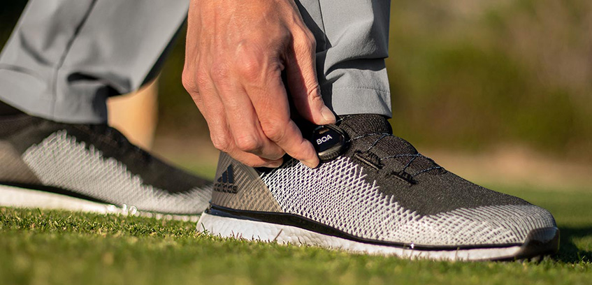 Adidas Forgefiber BOA Golf Shoes, image: golf.com
