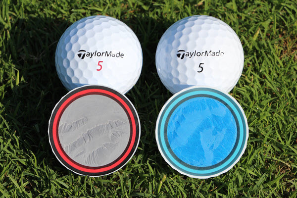 TaylorMade TP5 and TP5x Construction, image: golfwrx.com