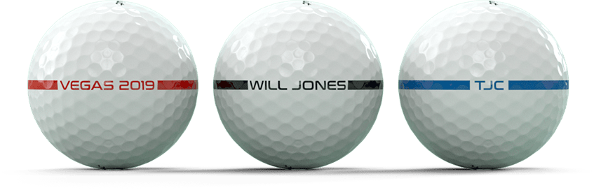 Personalized AlignXL Golf Balls, Available at Golfballs.com