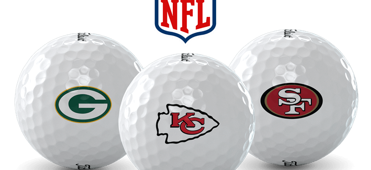 NFL Team Logo Golf Balls Available at Golfballs.com