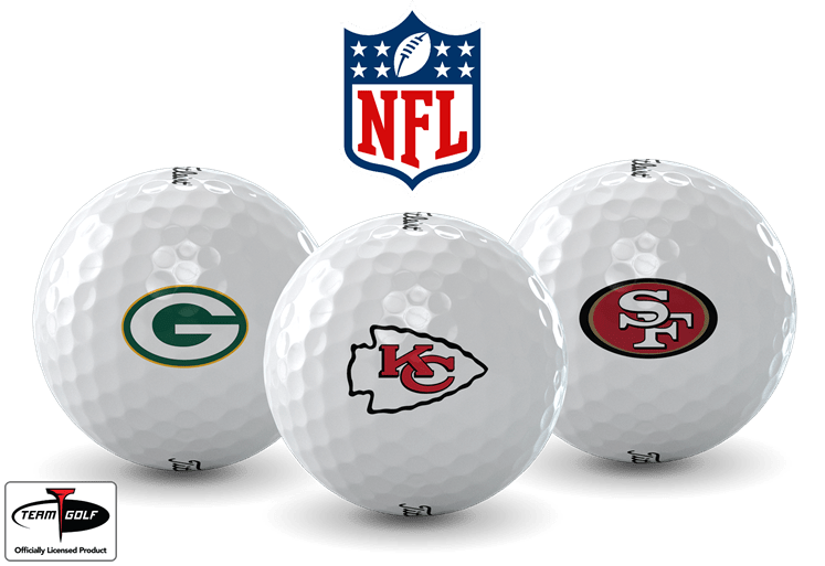NFL Team Logo Golf Balls Available at Golfballs.com