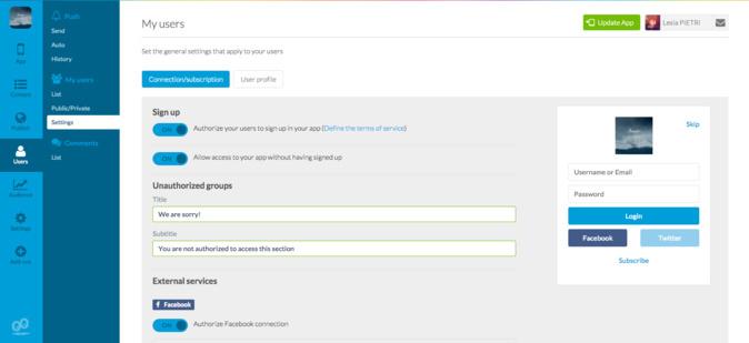 """Torna a tua App mais Social adicionando o novo Add-On """"User Group"""""""