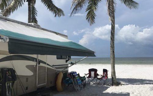 Red Coconut RV Park - beach scene