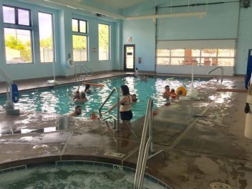 Elephant Butte Lake RV Resort - indoor pool