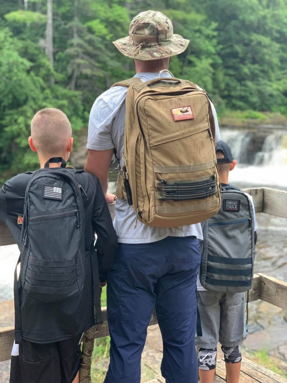 Ruck with your kids