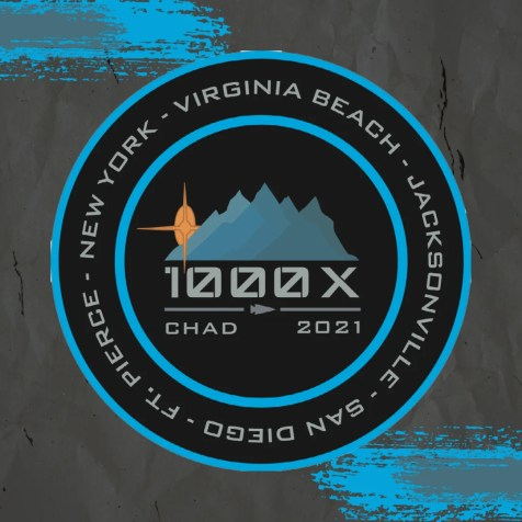 CHAD1000x Patch Graphic