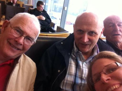 Elisabeth Guthu, Kjell Broberg, Svein Haugland og Per Froland på teamtur til Kenya for Gospel Mission