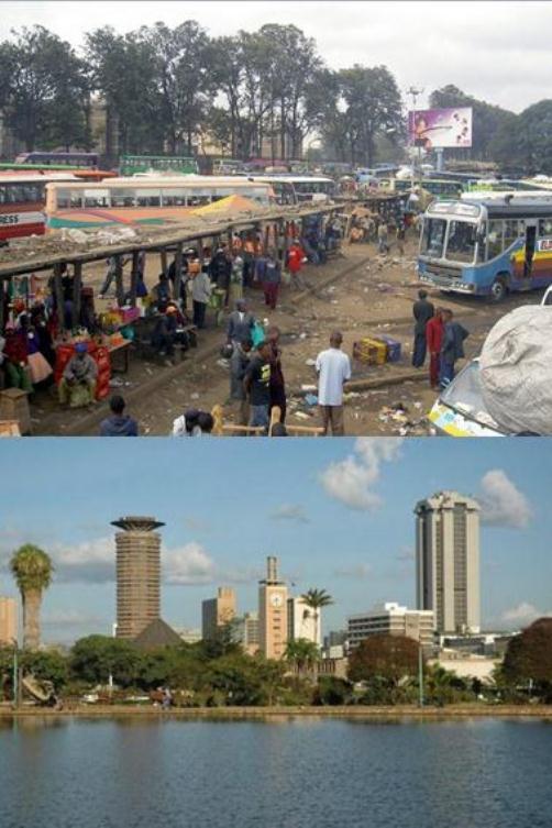 Nairobi er en by med store forskjeller